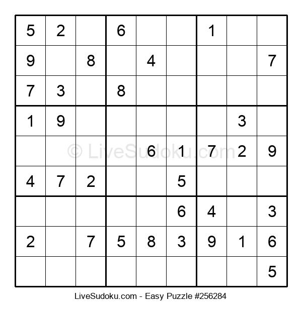 Beginners Puzzle #256284