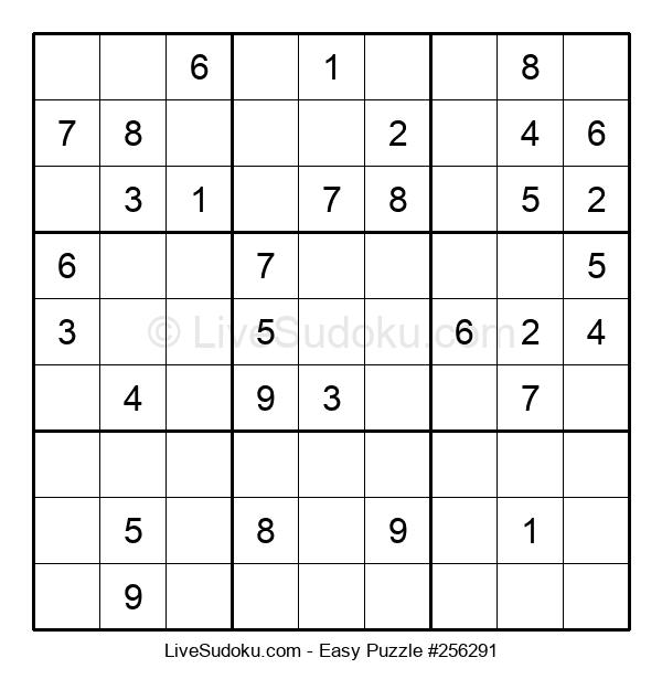 Beginners Puzzle #256291