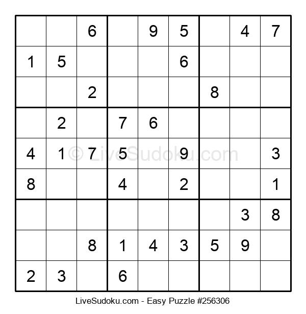 Beginners Puzzle #256306