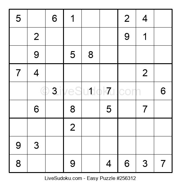 Beginners Puzzle #256312
