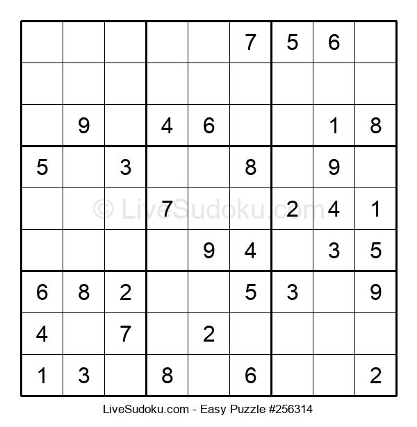 Beginners Puzzle #256314
