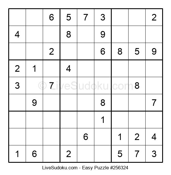 Beginners Puzzle #256324
