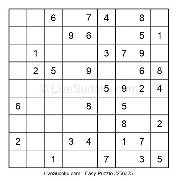 Beginners Puzzle #256325
