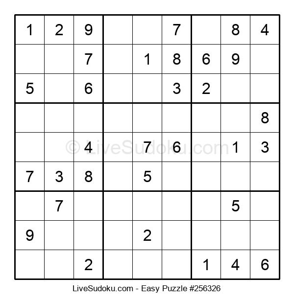 Beginners Puzzle #256326