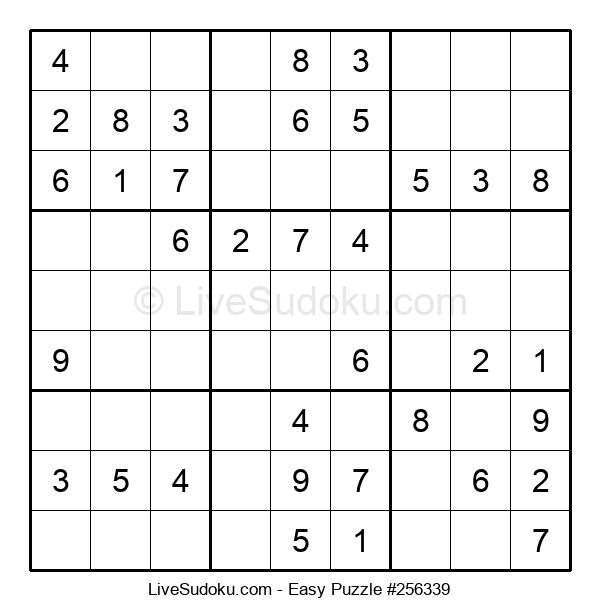 Beginners Puzzle #256339