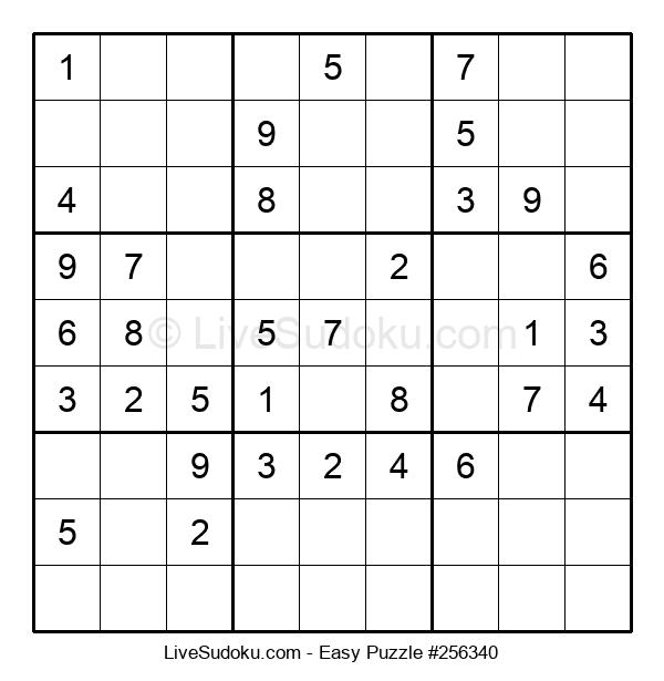 Beginners Puzzle #256340