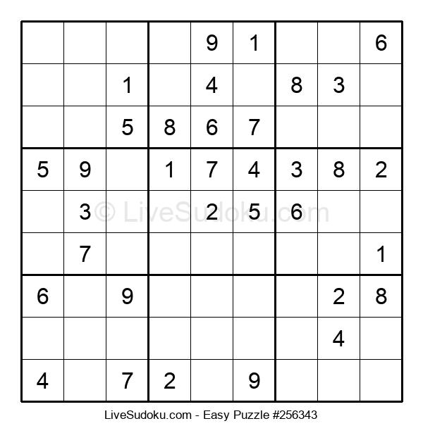 Beginners Puzzle #256343