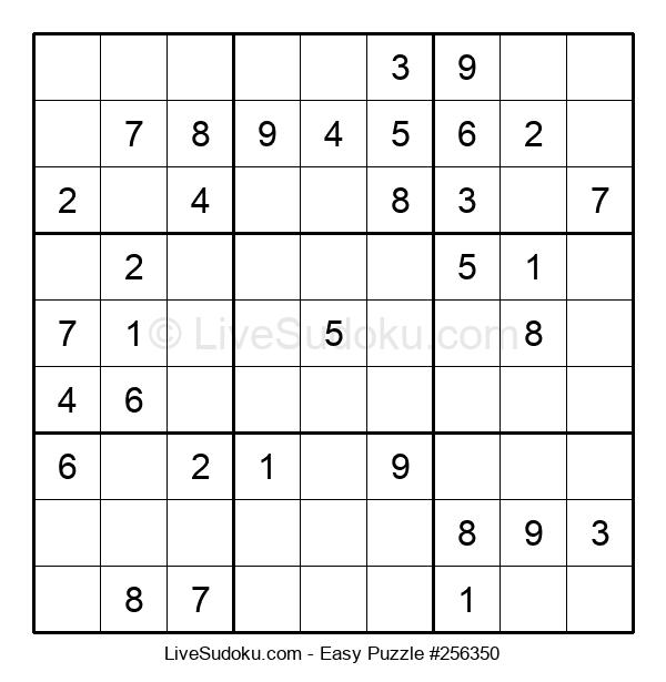 Beginners Puzzle #256350