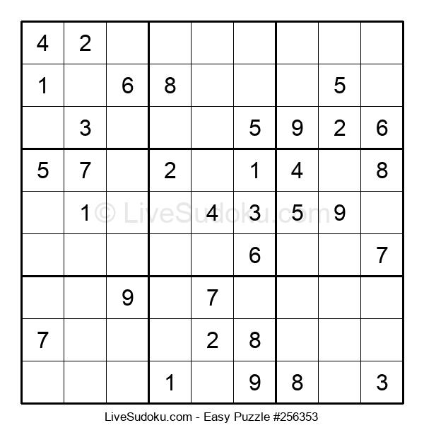 Beginners Puzzle #256353