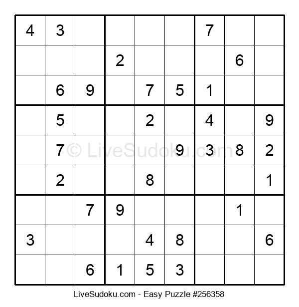 Beginners Puzzle #256358