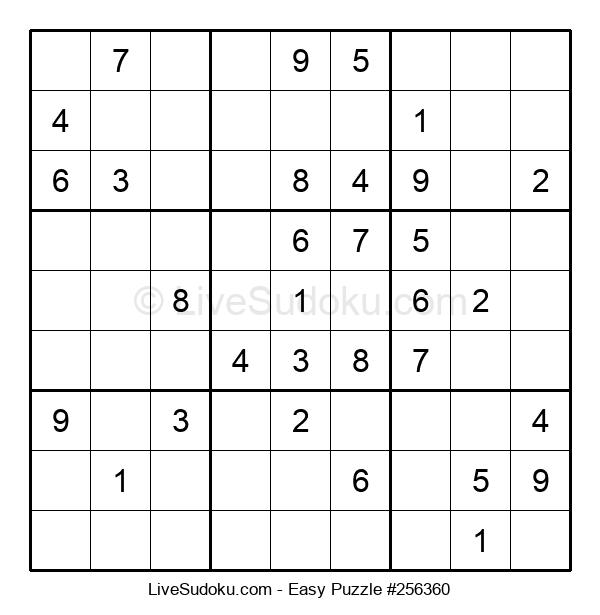 Beginners Puzzle #256360