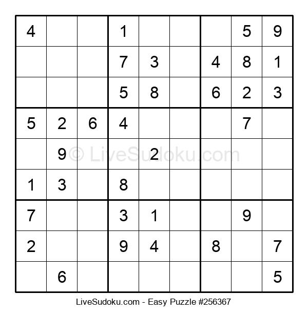 Beginners Puzzle #256367