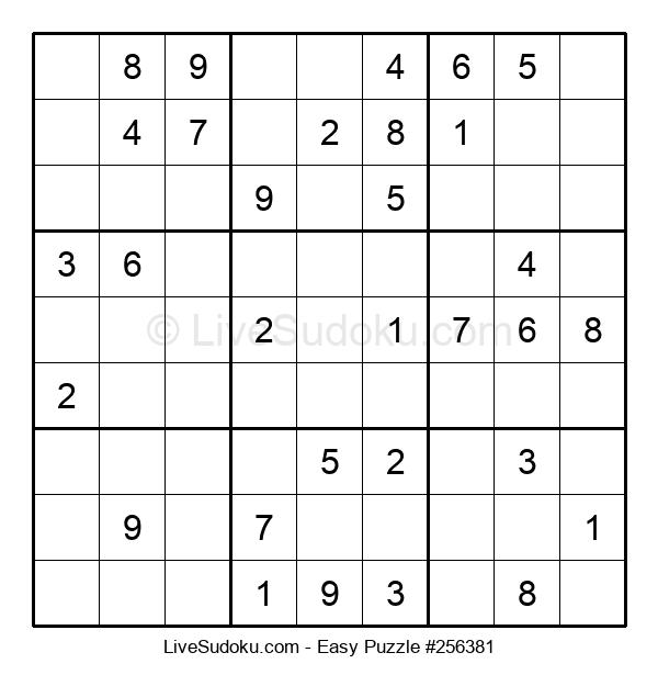 Beginners Puzzle #256381