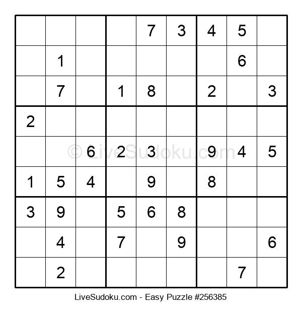 Beginners Puzzle #256385