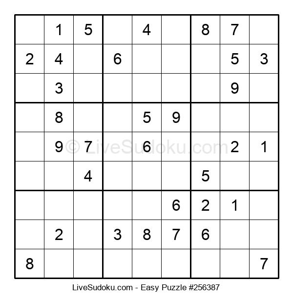 Beginners Puzzle #256387