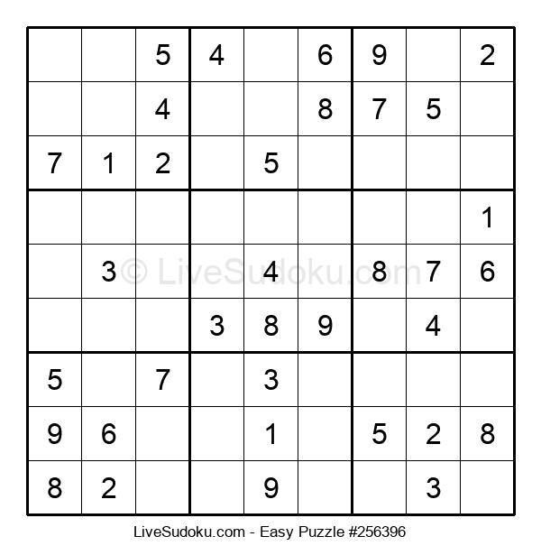 Beginners Puzzle #256396