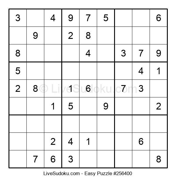 Beginners Puzzle #256400