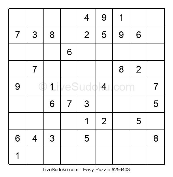 Beginners Puzzle #256403