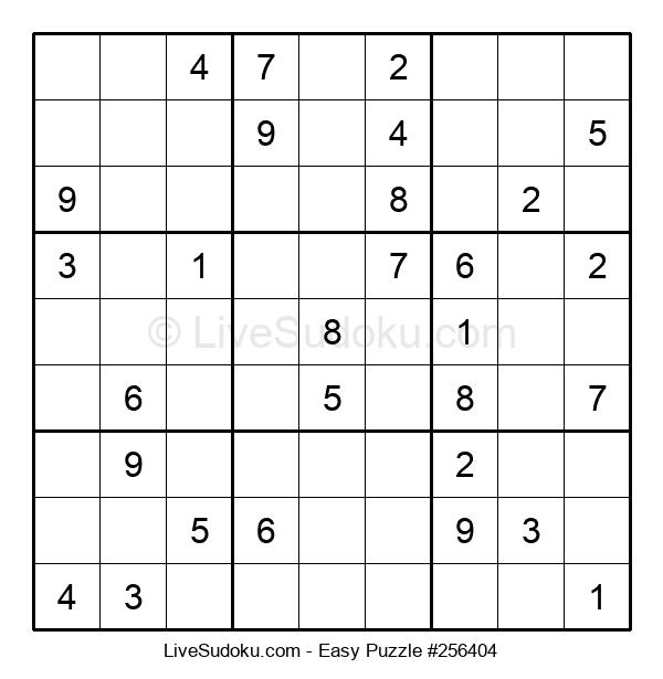 Beginners Puzzle #256404