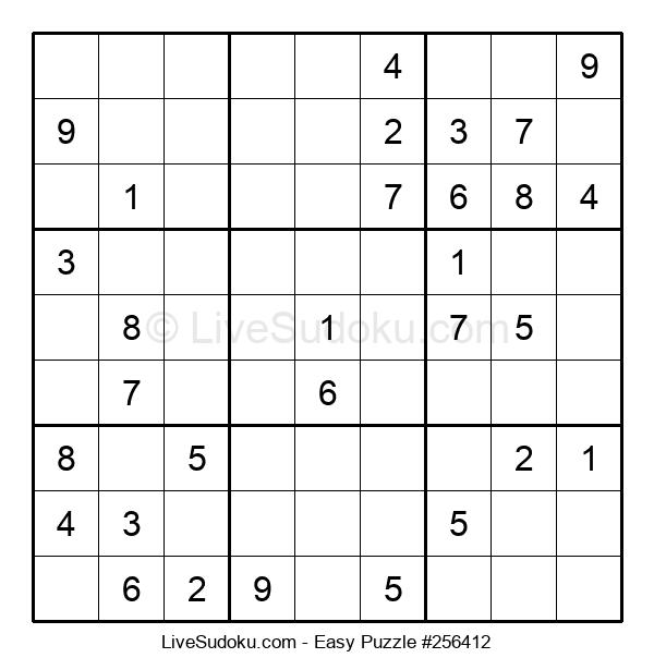 Beginners Puzzle #256412