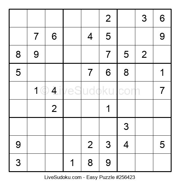 Beginners Puzzle #256423