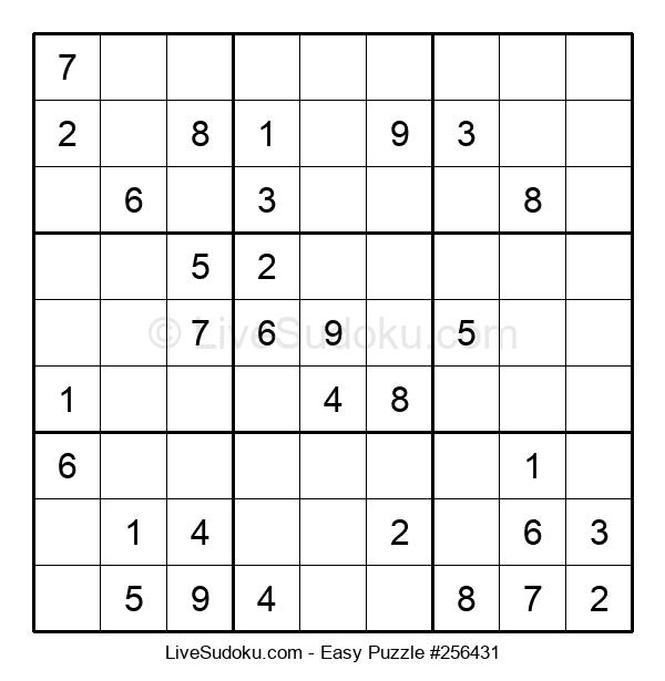 Beginners Puzzle #256431