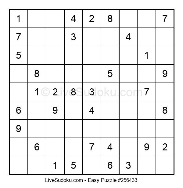 Beginners Puzzle #256433