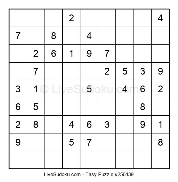 Beginners Puzzle #256439