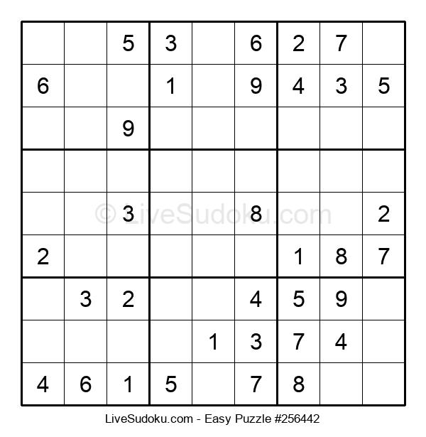 Beginners Puzzle #256442