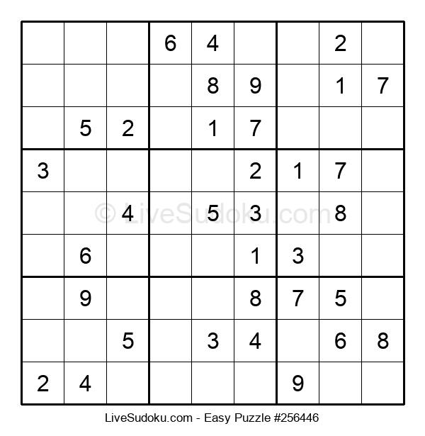 Beginners Puzzle #256446
