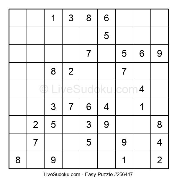 Beginners Puzzle #256447