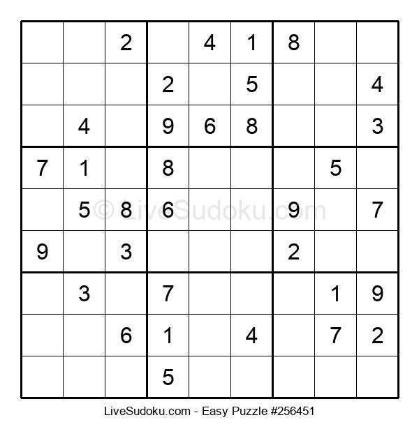 Beginners Puzzle #256451