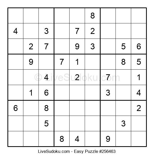 Beginners Puzzle #256463