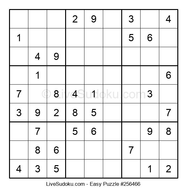 Beginners Puzzle #256466