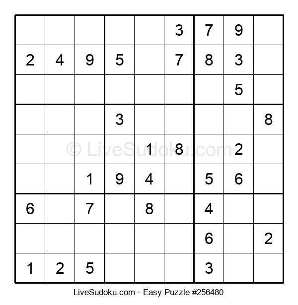 Beginners Puzzle #256480