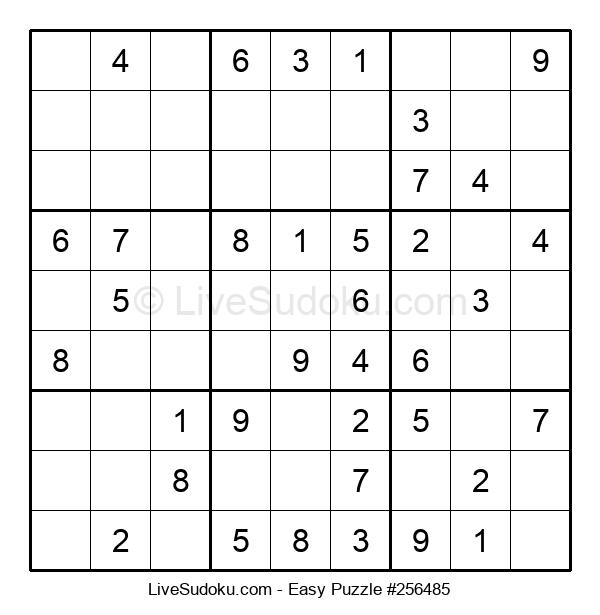 Beginners Puzzle #256485