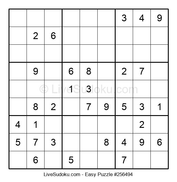 Beginners Puzzle #256494