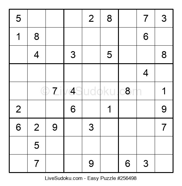 Beginners Puzzle #256498