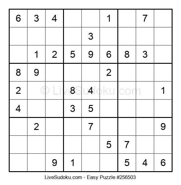 Beginners Puzzle #256503