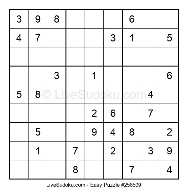 Beginners Puzzle #256509