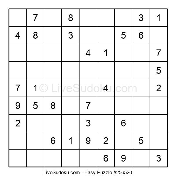 Beginners Puzzle #256520