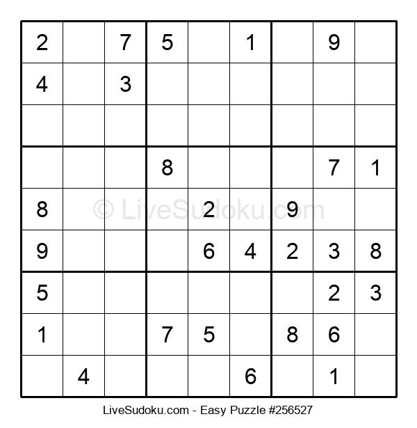Beginners Puzzle #256527