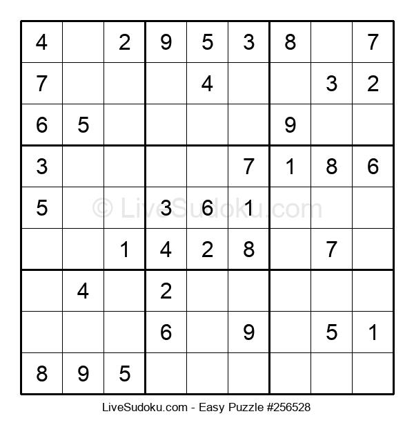 Beginners Puzzle #256528