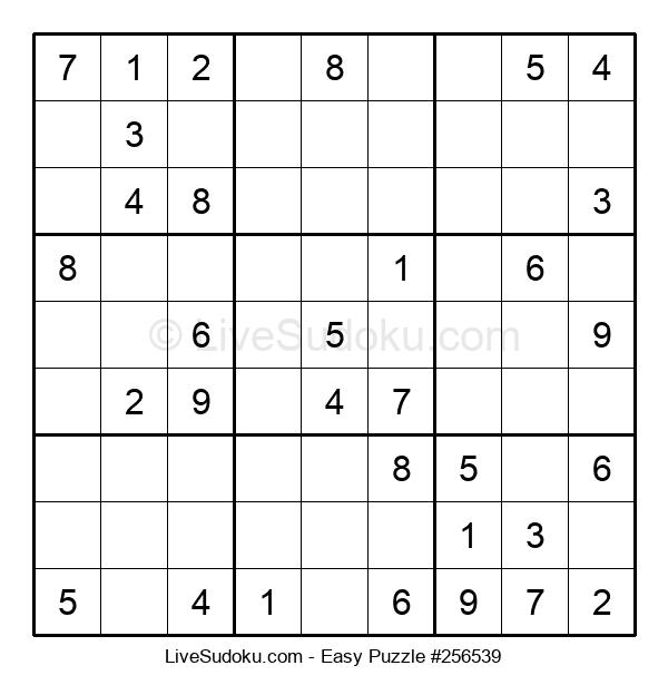 Beginners Puzzle #256539