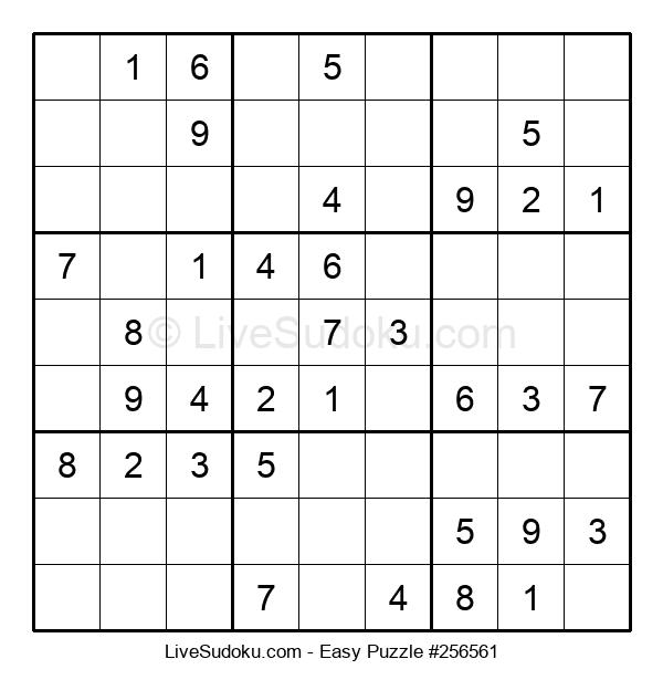 Beginners Puzzle #256561