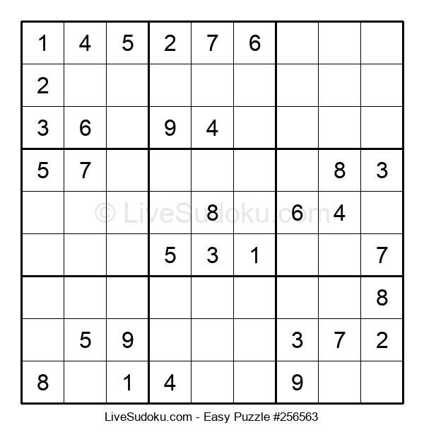 Beginners Puzzle #256563