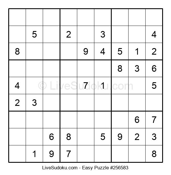 Beginners Puzzle #256583
