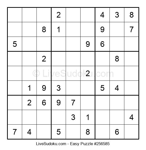 Beginners Puzzle #256585