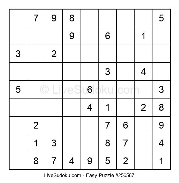 Beginners Puzzle #256587