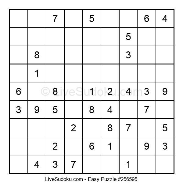 Beginners Puzzle #256595